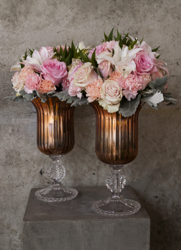 Chalice Urn Table Arrangements